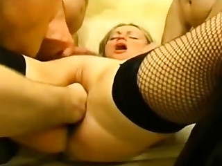 Amateur, Blonde, French, Facial, Fisting