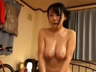 Asian Milf Doggystyle Fucked All round Company Cumshot